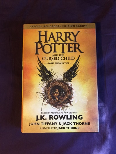 harry potter and the cursed child, book, reading, book review, writing